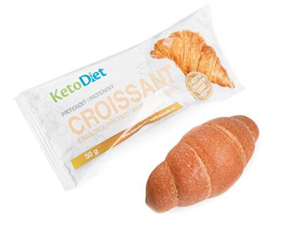 Proteinový croissant s máslovou příchutí