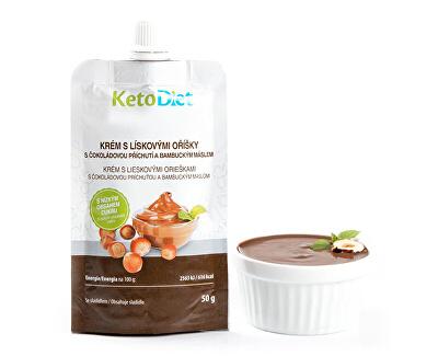 Proteinový krém s lískovými oříšky 50 g