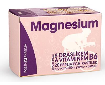Rosen Magnesium 300 mg perlivé pastilky 20 ks