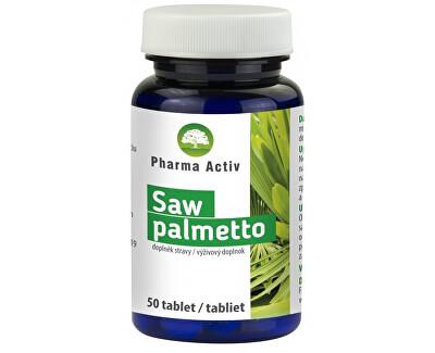 Saw palmetto 50 kapslí