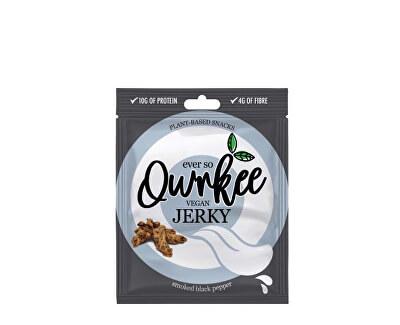 Qwrkee Vegan Jerky - Čierne korenie 70 g