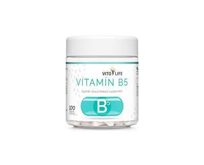 Vitamín B5, 100 tobolek
