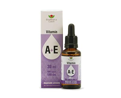 vitamíny A + E v kapkách 30 ml