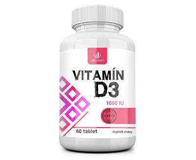 Allnature Vitamín D3 60 tablet