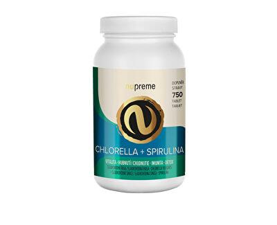 Chlorella + Spirulina 750 tablet NUPREME