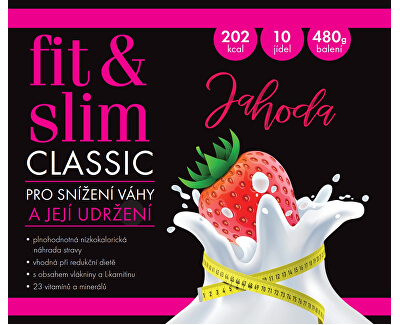 Fit & Slim CLASSIC - Jahoda