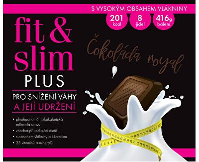 Fit & Slim PLUS - Čokoláda Royal