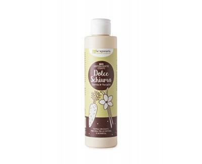 Jemný čisticí sprchový gel s mrkví a vanilkou BIO 200 ml