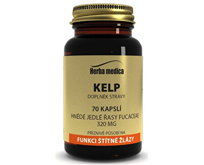 Kelp - jod z mořského kelpu 70 kapslí