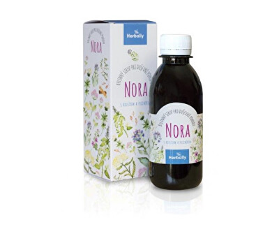 NORA bylinný sirup pro duševní pohodu s kozlíkem a plicníkem 200 ml