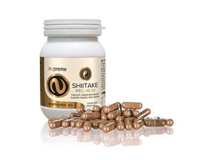 Shiitake extract 30%  NUPREME 100 kapslí