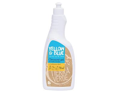 Citronový gelový čistič na úklid koupelen (skvěle rozpouští vodní kámen) 750 ml