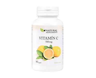 Vitamín C 500 mg 90 kapslí