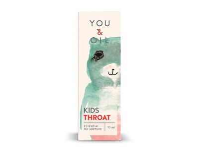 You & Oil KIDS Bolest v krku 10 ml