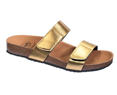 Zdravotní obuv - GREENY 2 STRAPS - Gold