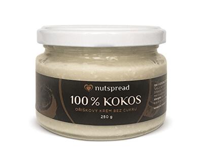 100% kokosové maslo Nutspread chrumkavé 250 g