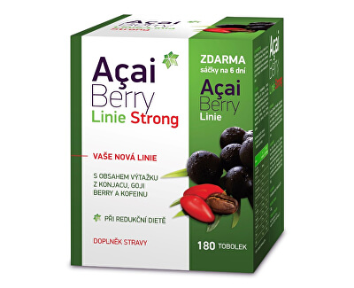 Acai Berry Linie Strong 180 tobolek