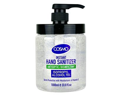 Čistící gel na ruce s antibakteriálními účinky 1000 ml
