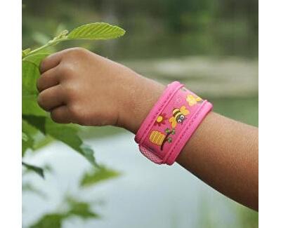 Dětský náramek proti komárům PARA`KITO + 2 náplně