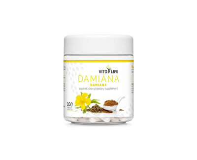 Damiána 400 mg (extrakt 10:1), 100 tobolek