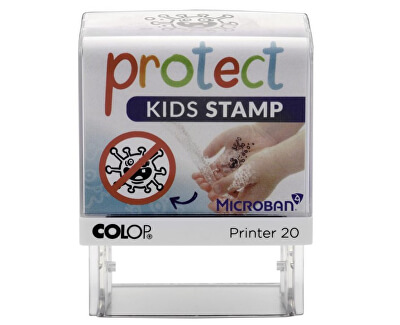Dětské razítko PROTECT KIDS - STOP CORONA