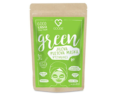 Green Face mask - jílová maska 30 g