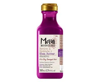 MAUI oživujúci šampón + Shea Butter pre zničené vlasy 385 ml