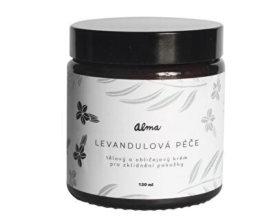 Tělový a obličejový krém Levandulová péče 120 ml