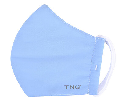 Rouška textilní, 3 vrstvá, nano membrána, antibakteriální vel. L modrá