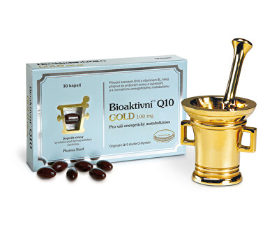 Bioaktívny Q10 GOLD 100 mg 150 kapslí