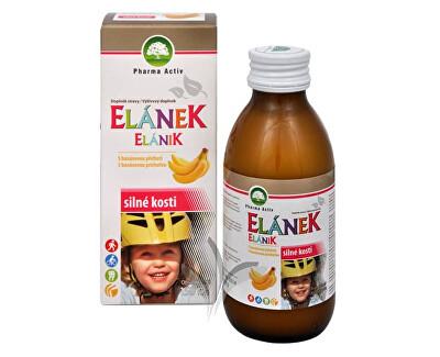 Pharma Activ Elánek - silné kosti s banánovou příchutí 150 ml
