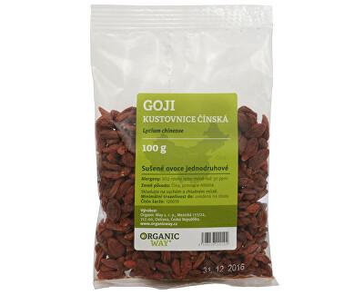 Organic way Goji Kustovnice čínská sušené plody 100 g