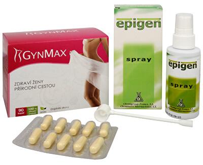 Doporučená kombinace produktů Na Ženské pohlavní orgány - Epigen Intimo 60 ml + Gynmax 90 kapslí