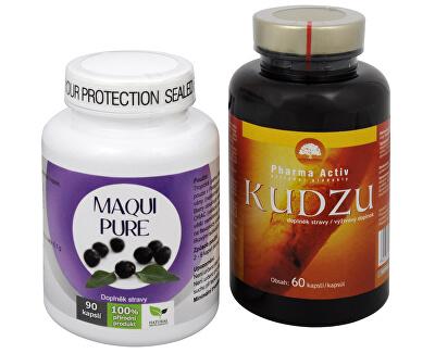 Doporučená kombinace produktů Na Kouření - Maqui Pure + Kudzu