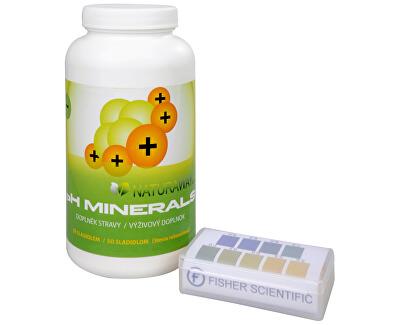 Doporučená kombinace produktů Na Překyselení organismu - Indikátorové pH papírky + pH Minerals