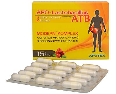 Apotex APO-Lactobacillus ATB 15 kapslí - SLEVA - EXPIRACE