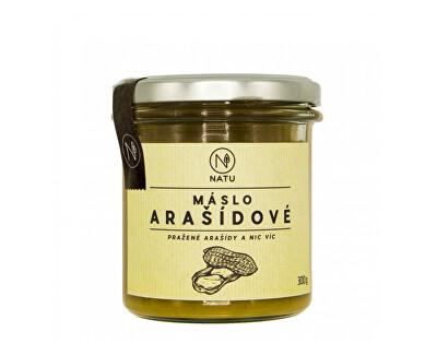 Natu Arašídové máslo pražené 300 g - SLEVA - poškozená etiketa