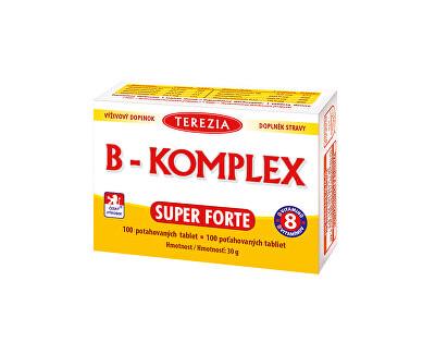 Terezia Company B-komplex Super Forte 100 tabliet - ZĽAVA - potrhaný ŠKATUĽA