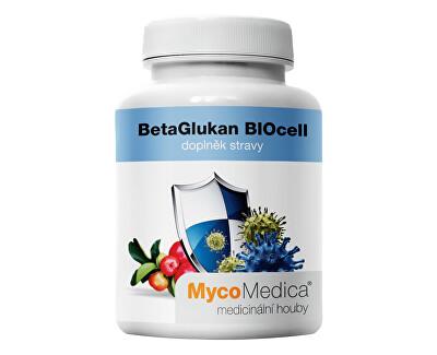 MycoMedica BetaGlukan BIOcell 90 kapslí - SLEVA - ušpiněné víčko