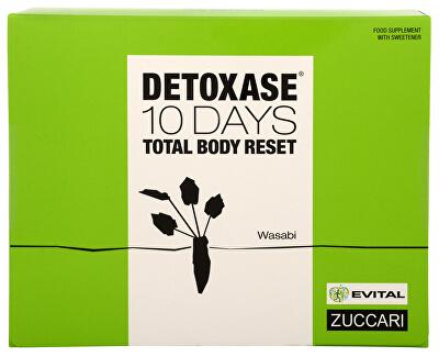 Zuccari Detoxase 10 days Total Body Reset 10 sáčků - SLEVA - poškozený obal