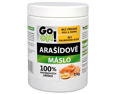 Vieste group GO ON! Arašídové máslo 1 kg -  SLEVA - poškozená etiketa