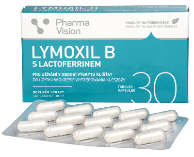 Pharma Vision Lymoxil B s lactoferrinem 30 tobolek - SLEVA - poškozená krabička