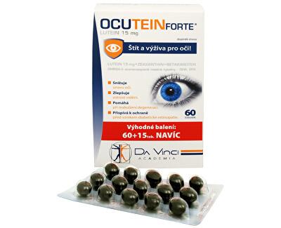 Simply You Ocutein Forte Lutein 15 mg 60 tob. + 15 tob. ZDARMA - SLEVA - POMAČKANÁ KRABIČKA
