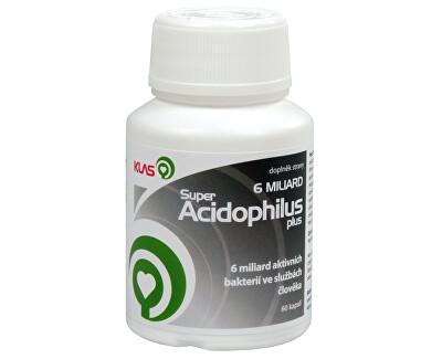 Klas Super Acidophilus plus 6 miliard 60 kapslí - SLEVA - poškozená etiketa
