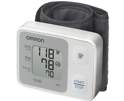 Omron Tonometr digitální RS2 na zápěstí - SLEVA - poškozená krabička