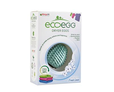 Ecoegg Vajíčko do sušičky prádla s vůní svěží bavlny 2 ks - SLEVA - poškozená krabička