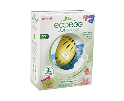 Ecoegg Vajíčko na praní 54 cyklů praní bez vůně - SLEVA - POMAČKANÁ KRABIČKA