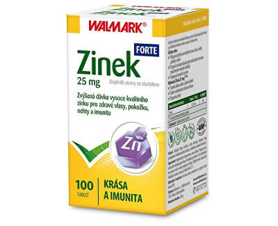 Walmark Zinek FORTE 25 mg 100 tbl. - SLEVA - bez krabičky