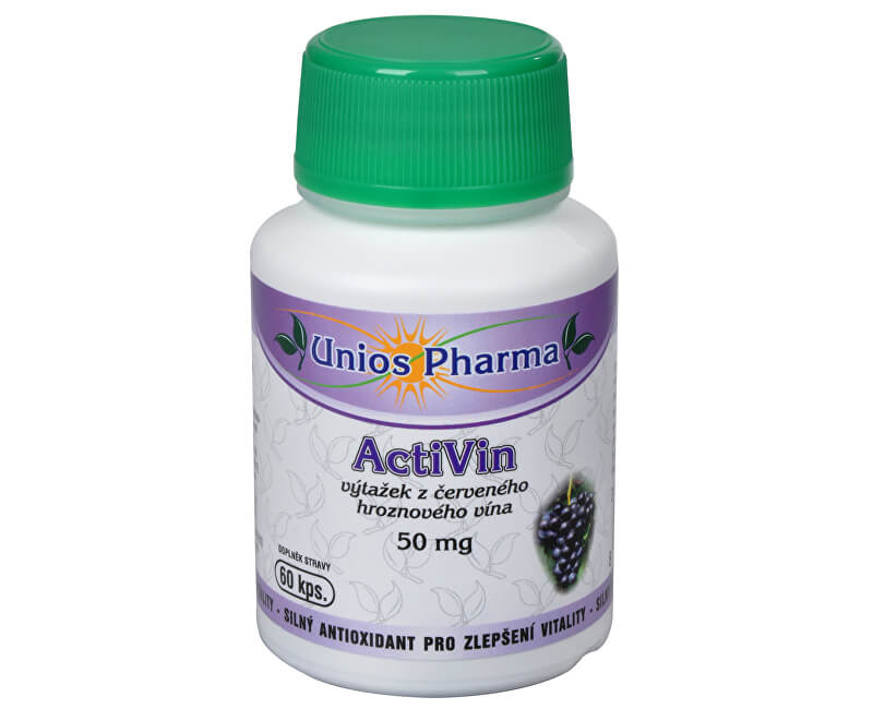 Unios Pharma ActiVin 60 kapslí