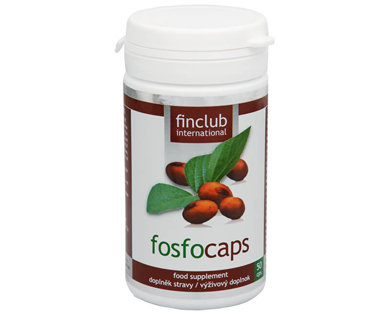 Finclub Fin Fosfocaps 50 kapslí